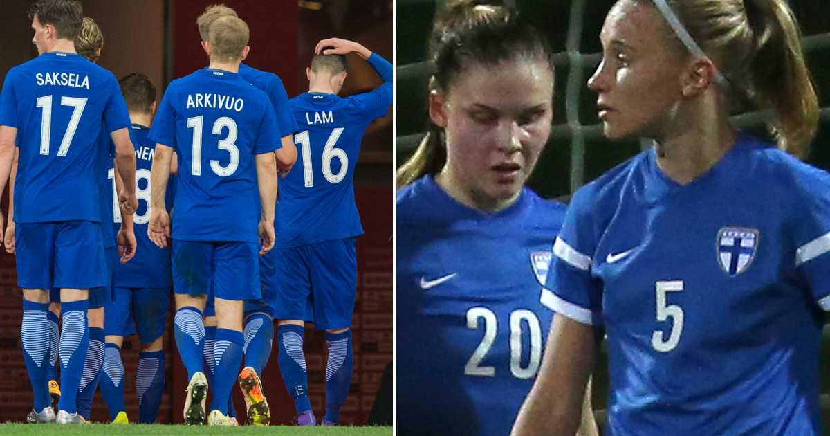 Finland startar utredning om diskriminering mot Finlands damlandslag i  fotboll  80d43af25def8