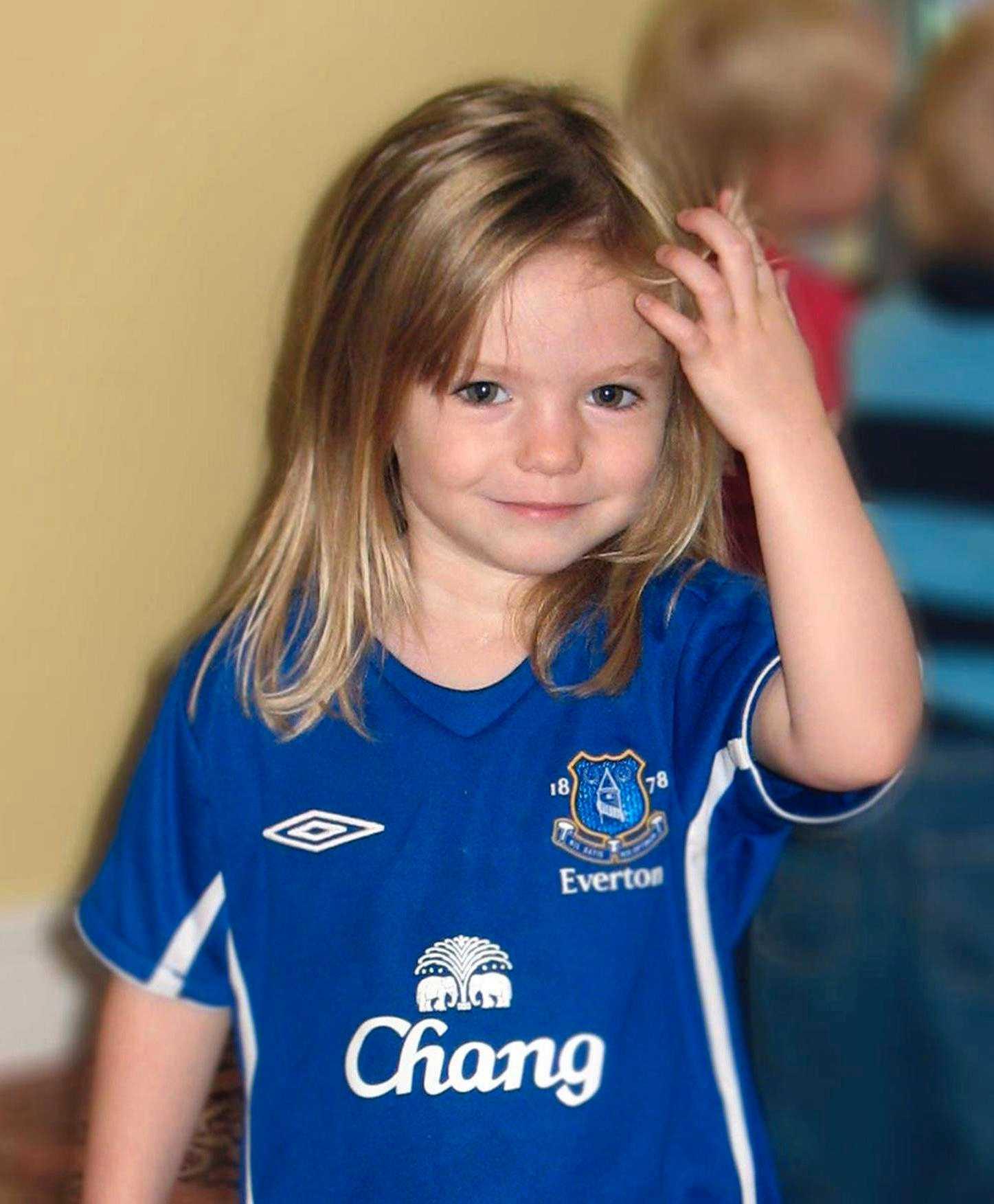 Madeleine McCann försvann 2007.