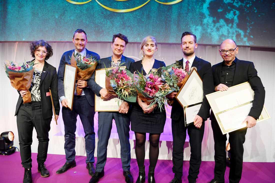 Alla vinnare av Stora journalistpriset.