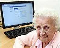 Tusentals följde 104-åriga Ivy Bean på Facebook och Twitter innan hon avled.