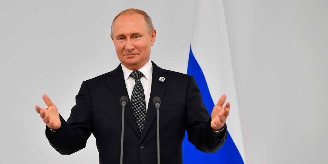 President Vladimir Putin måste avgå 2024, enligt reglerna i den ryska konstitutionen.
