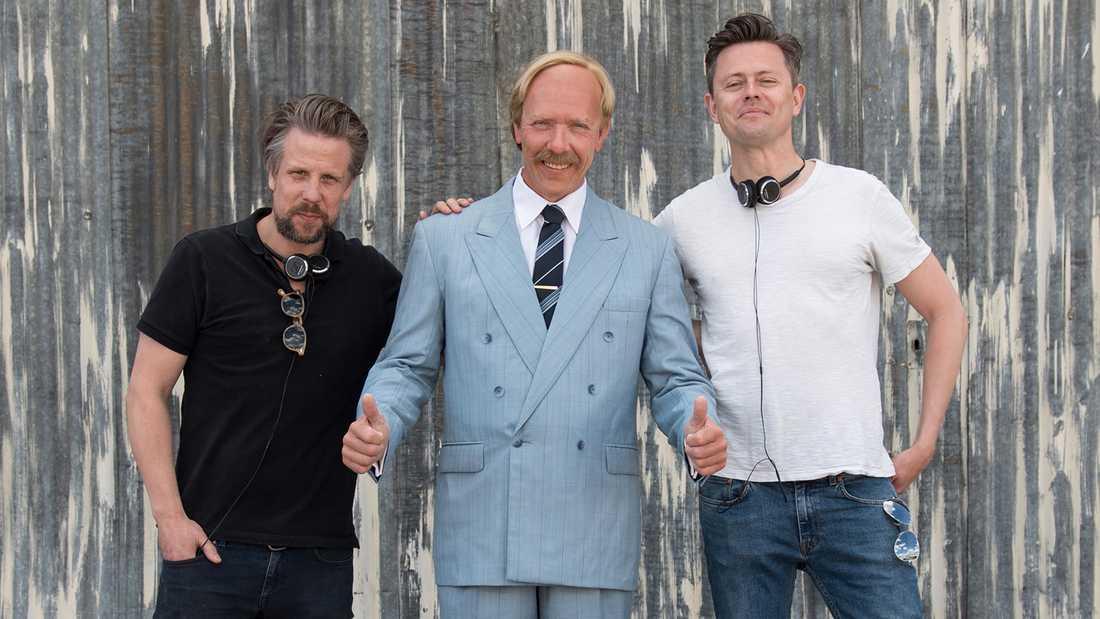 Filip och Fredrik med Mikael Persbrandt som Hasse P.