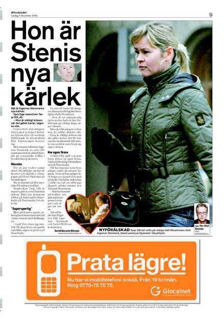 Aftonbladet från lördagen.