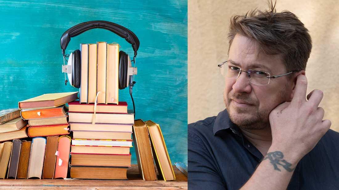"""""""Jag har inget principiellt emot ljudboksformatet, inte teveserier heller för den delen, bara man inte kallar det läsning, för det är det inte"""" skriver Ola Nilsson."""
