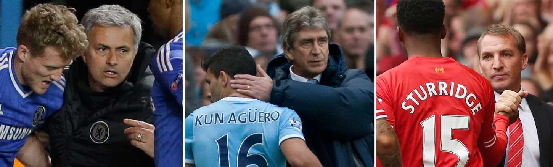 Manchester Citys tränare Manuel Pellegrini vill inte att Chelsea vinner ligan.