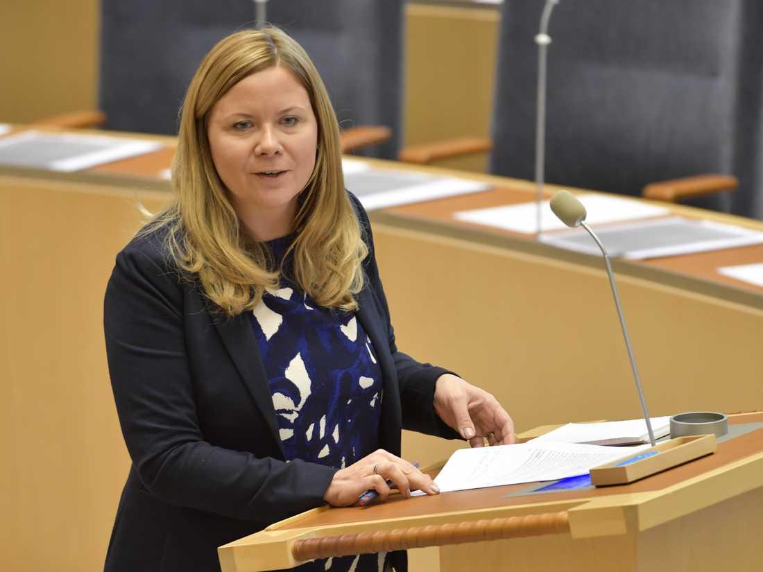 KD:s integrationspolitiska talesperson Sofia Damm. Arkivbild.