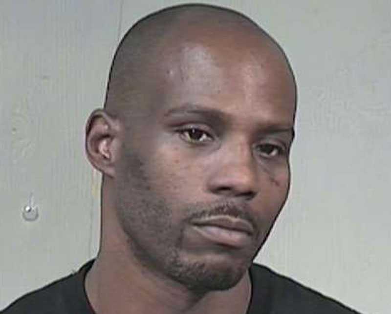 Polisens bild av fängelsedömda DMX.