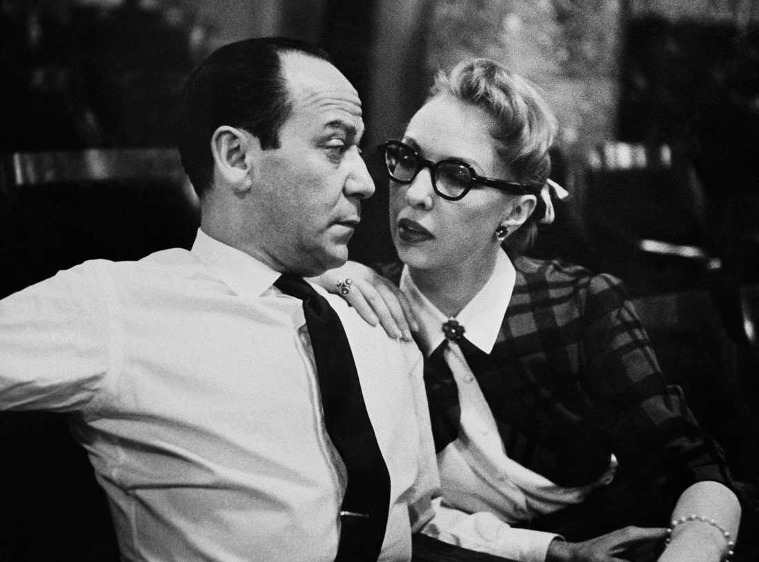 Frank Loesser med sin fru Lynn.