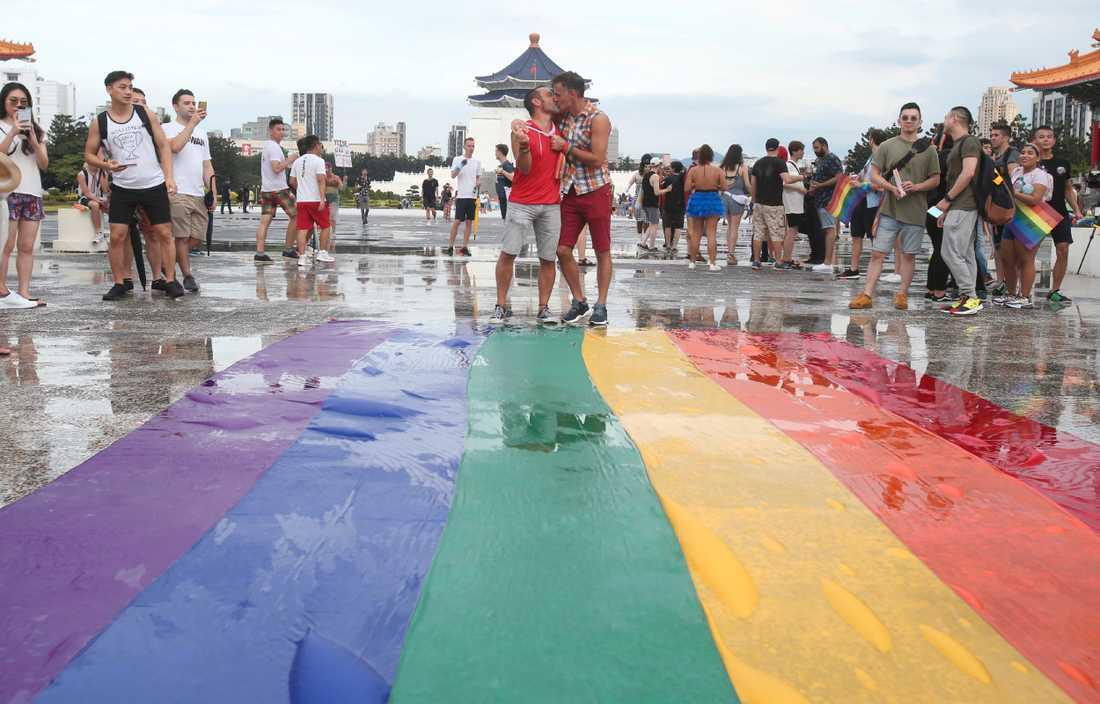 Våren 2019 blev samkönade äktenskap lagligt i Taiwan, något som knappast skulle vara aktuellt på fastlandet.