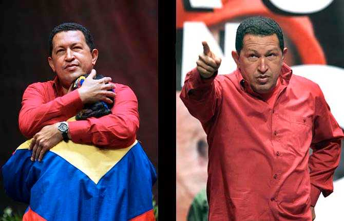 Wolfgang Hansson och Ulf Höjer var i Venezuela på en reportageresa 2006. Här följer är bilderna från resan. Hugo Chavez håller tal i Venezuela på Teresa Carenjoteatern i Caracas.