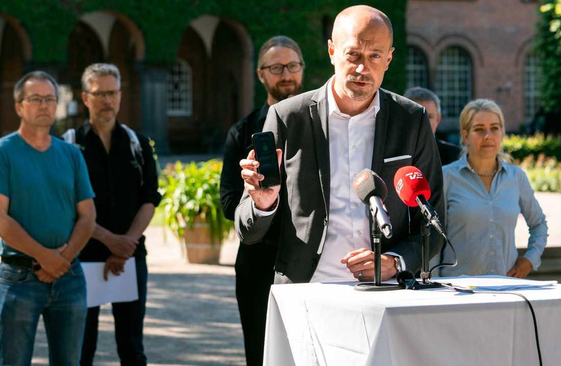 Danmarks hälsominister Magnus Heunicke.
