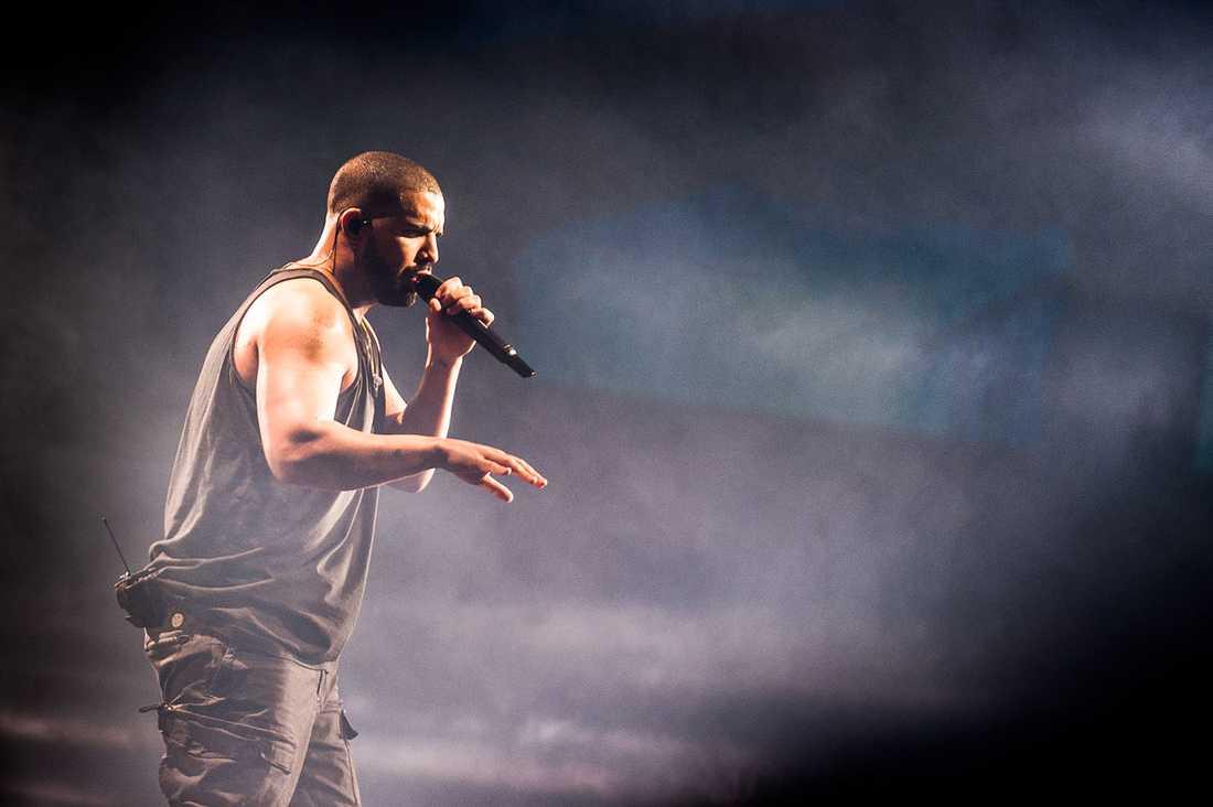 Drake i Globen.