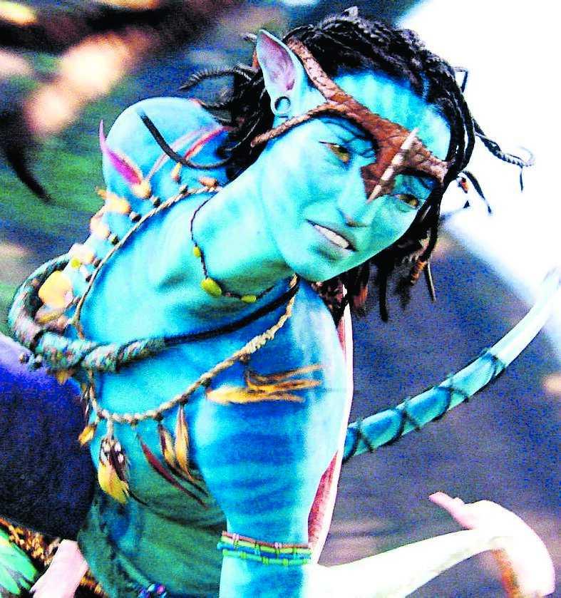 """Zoe Saldana spelar Neytiri i supersuccén """"Avatar"""", som nu får filmbolagen att göra om sina gamla klassiker till 3D-format."""