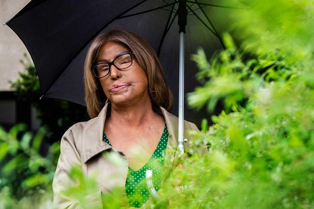 Maria Rashidi föreläser över hela Sverige om hedersrelaterat förtryck.
