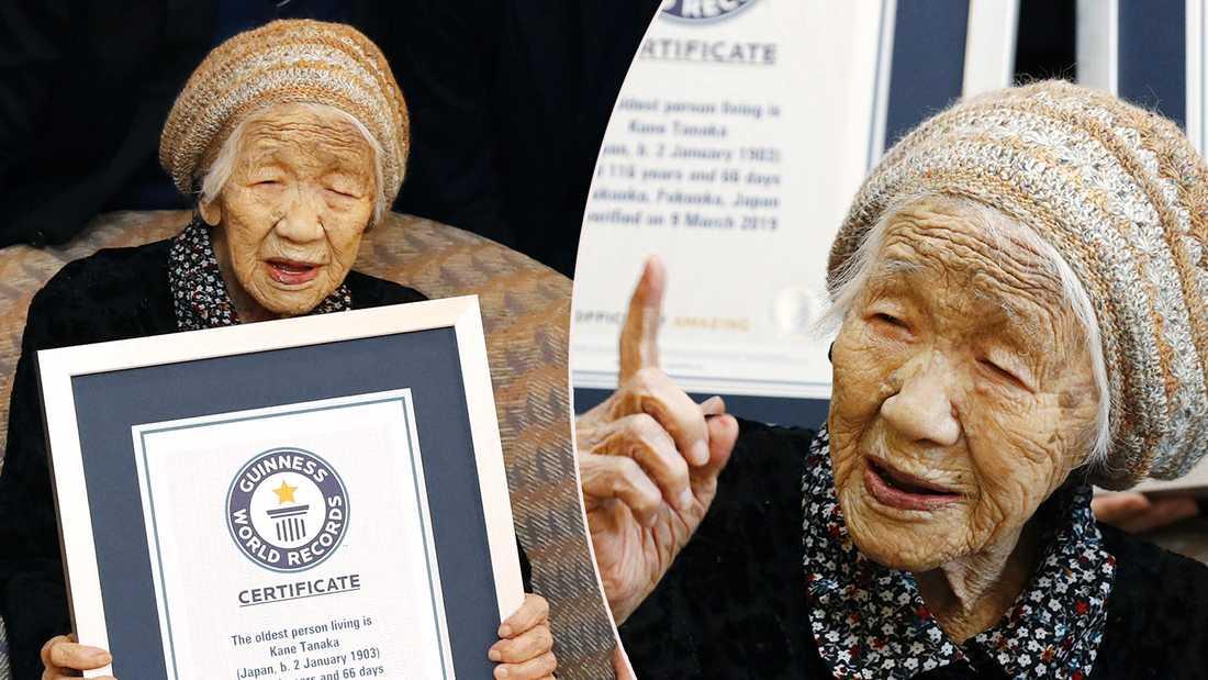 Äldsta kvinnan
