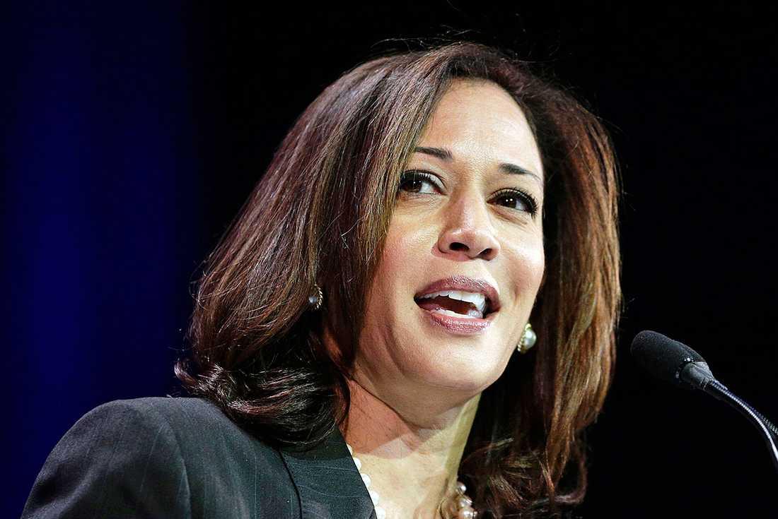 Demokraten Kamala Harris ställer upp i USA:s presidentval 2020.
