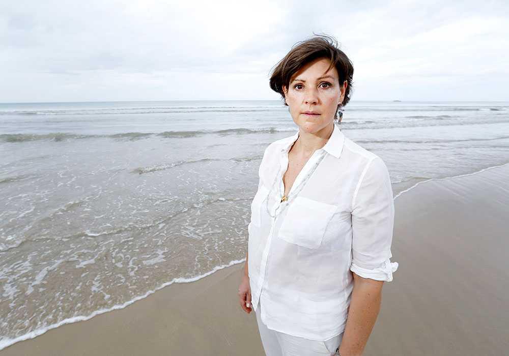 Lottie Knutsson, var informationschef på Fritidsresor när flodvågskatastrofen inträffade.