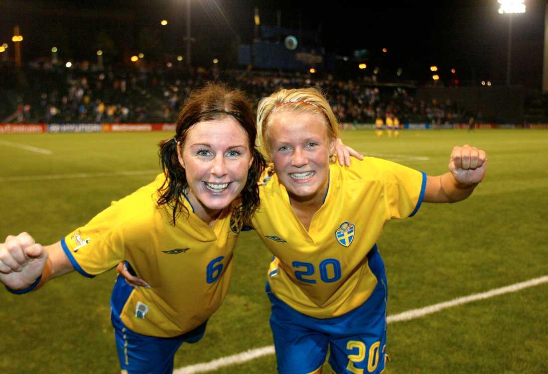 Malin Moström och Josefine Öqvist.