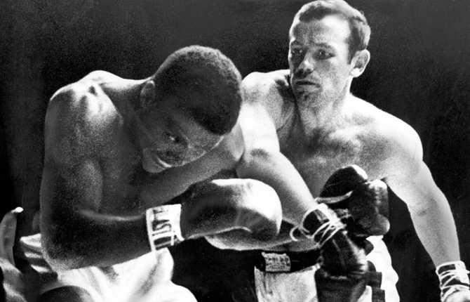 """""""Ingo"""" var överlägsen Eddie Machen i 1958 års uppgörelse på Ullevi. Matchen varade i en och en halv minut och bäddade för svenskens titelmatch mot Floyd Patterson."""