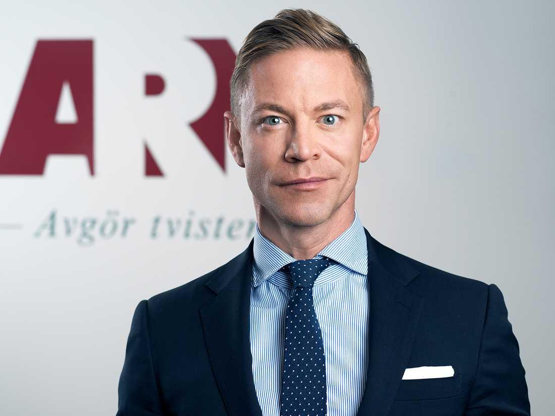 Marcus Isgren, chef för Allmänna reklamationsnämnden