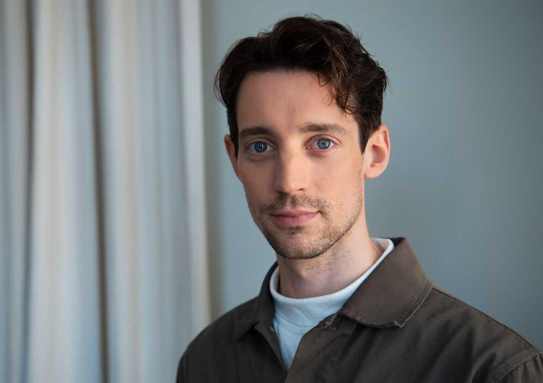 Adam Lundgren är klar för en roll i en kommande Netflixserie. Arkivbild.