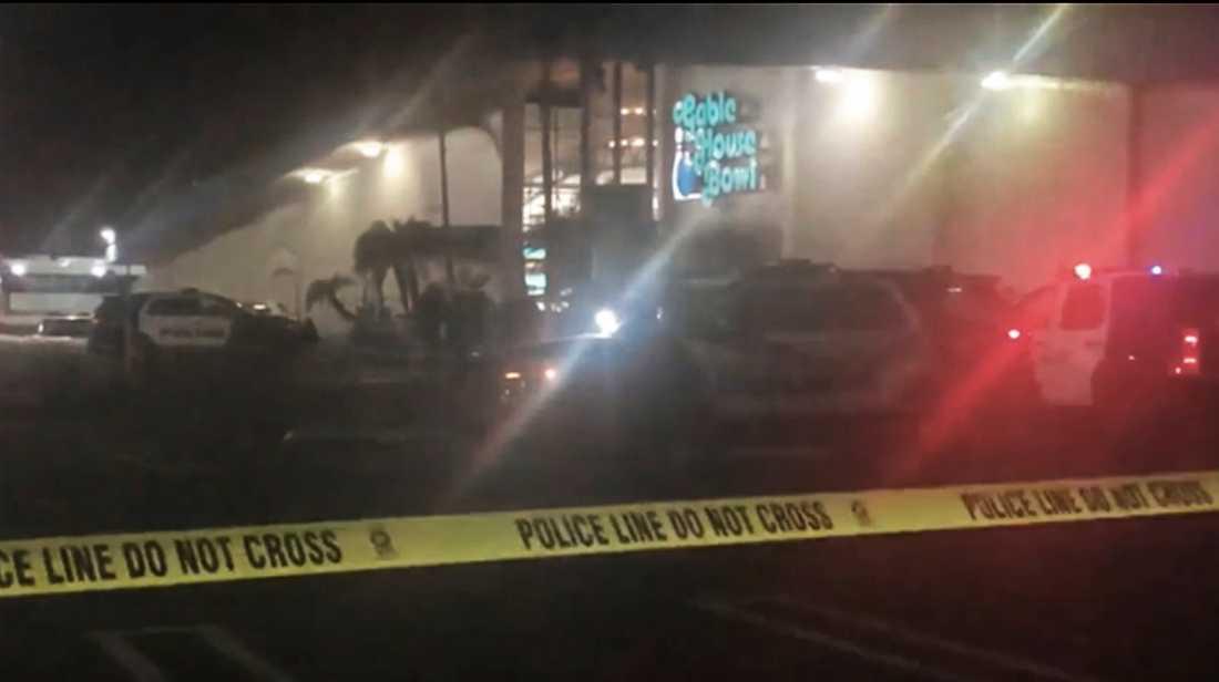 Skjutning på bowlinghall i Kalifornien