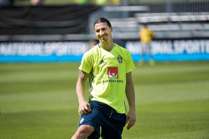 Claesson är kompis med Zlatan.