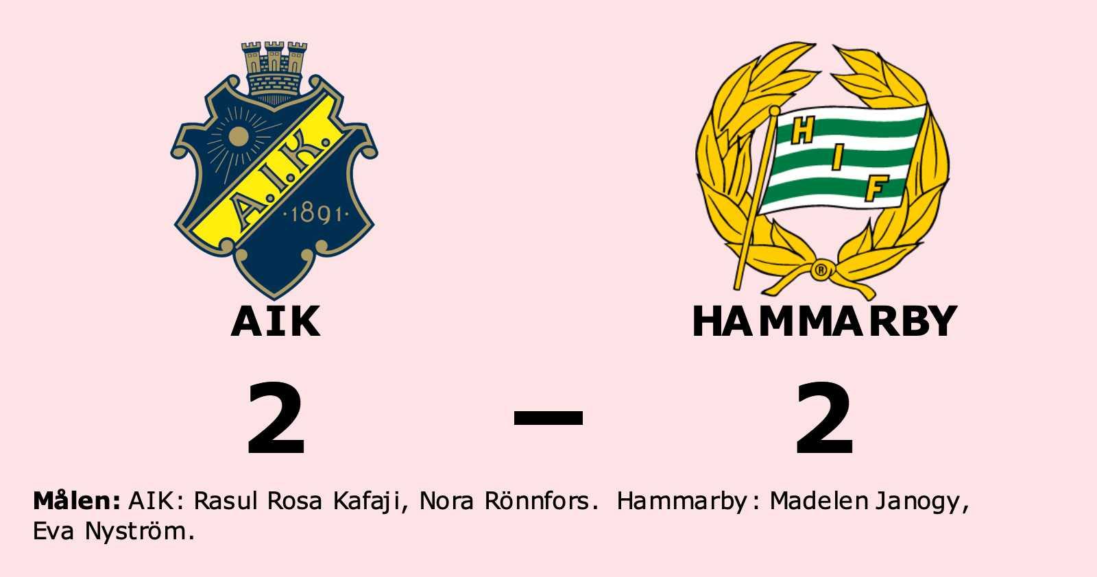 Delad pott för AIK och Hammarby