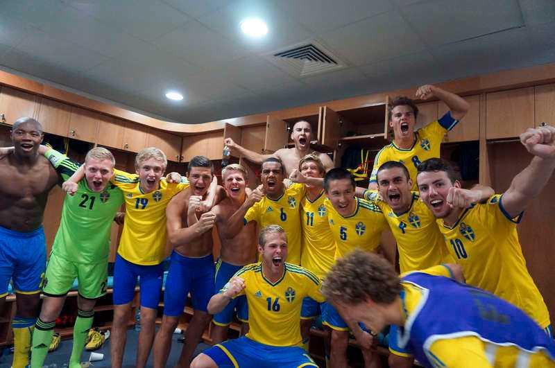 MÅNGFALD I det svenska U17-landslag som tog VM-brons i höstas finns spelare med bakgrund i tretton nationaliteter.
