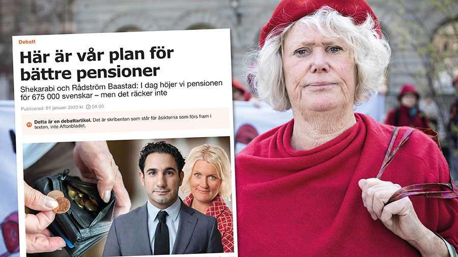 Vi har i dag ett underfinansierat och orättvist pensionssystem som drabbar lågavlönade hårt efter ett långt arbetsliv, skriver Birgitta Sevefjord.