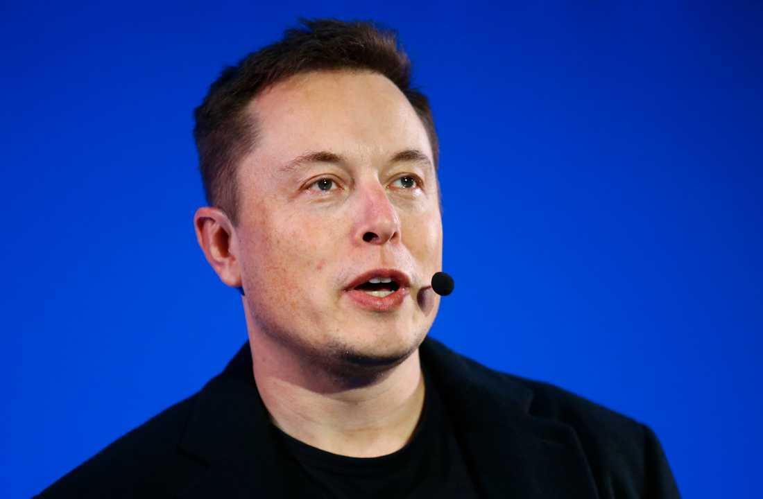 Teslachefen Elon Musk utlovar satsning på Indien 2021. Arkivbild