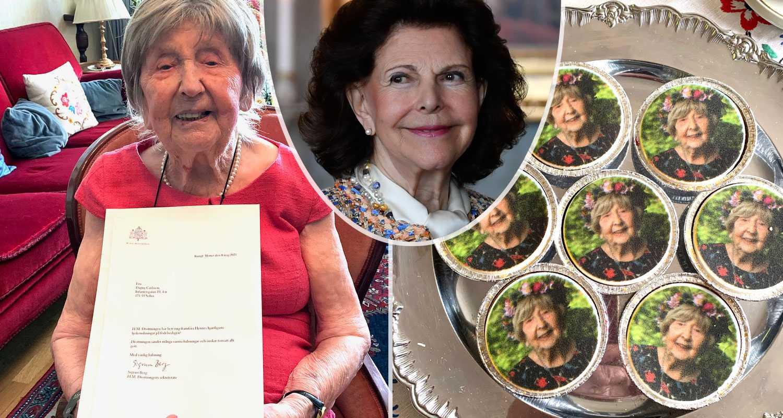 Dagny fyller 109 år – firas av drottning Silvia