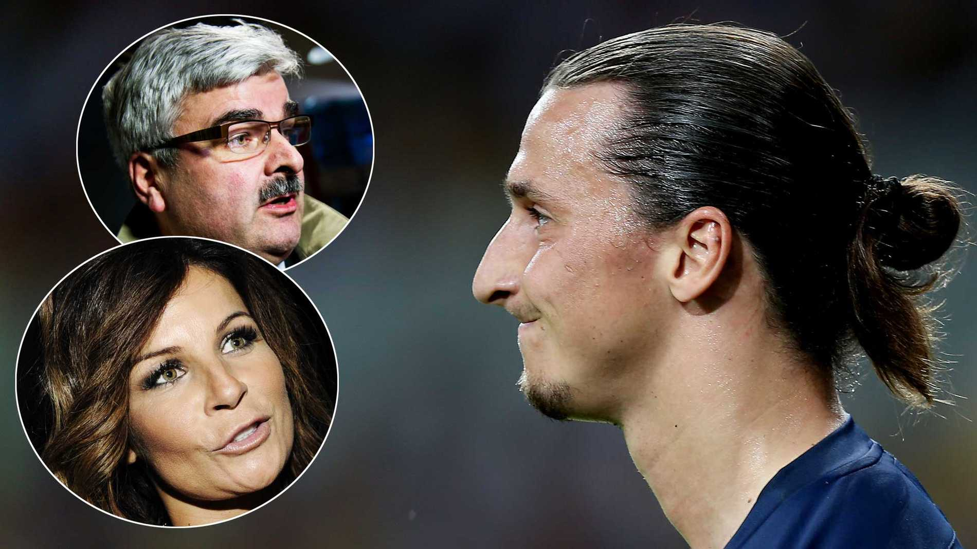 Skräcktrion –Håkan Juholt, Carola och Zlatan Ibrahimovic.