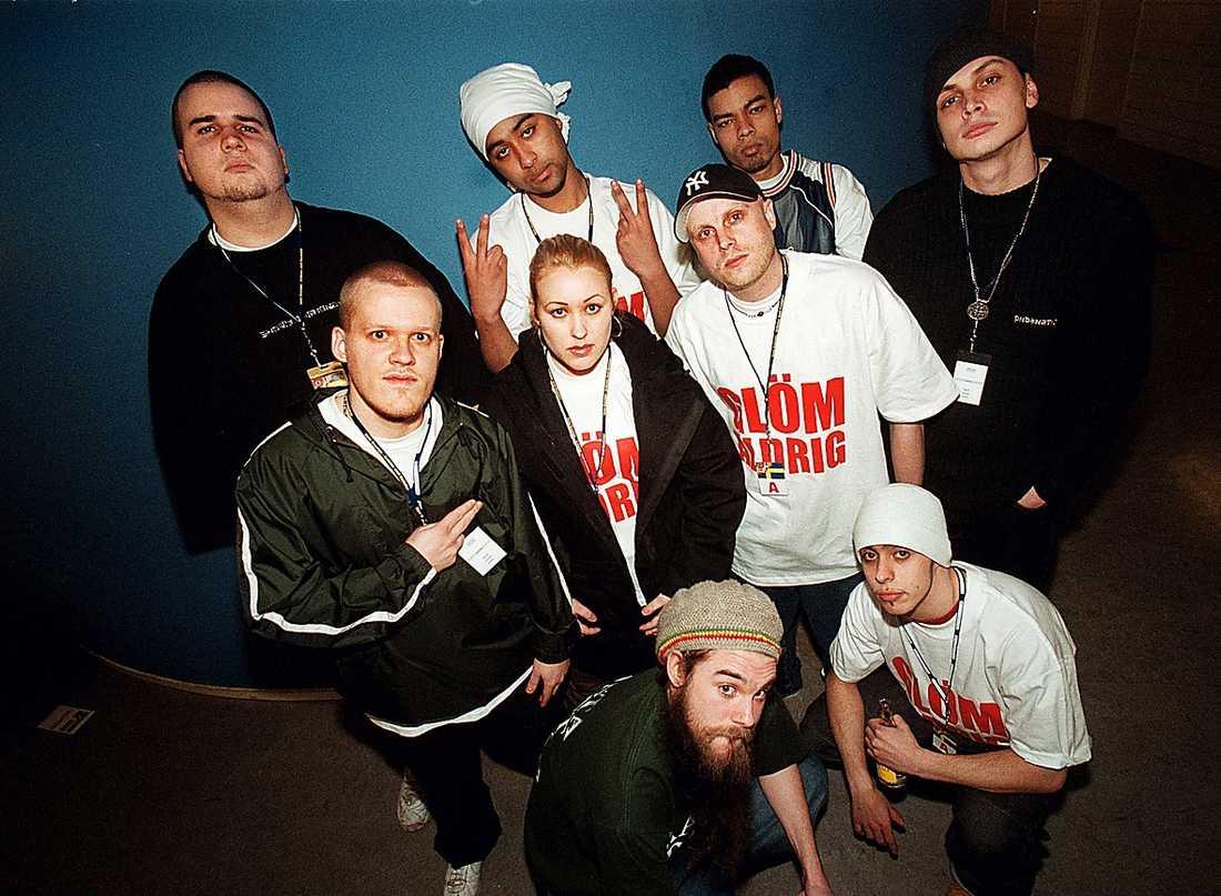 KOMPISAR FRÅN FÖRR  Under slutet av 1990-talet tillhörde Ayo den stora våg av hiphop som svepte över Sverige.