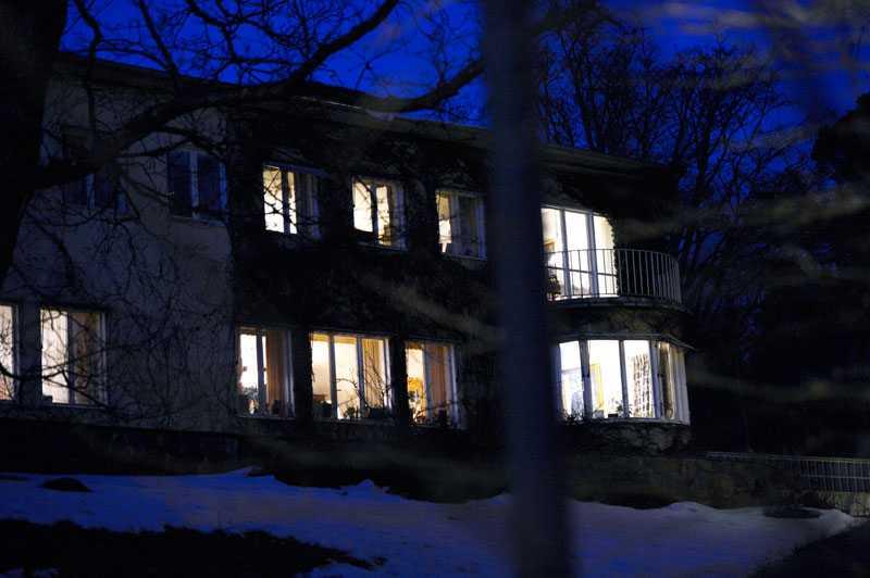 Här i hemmet på Djurgården somnade prinsessan Lilian in.