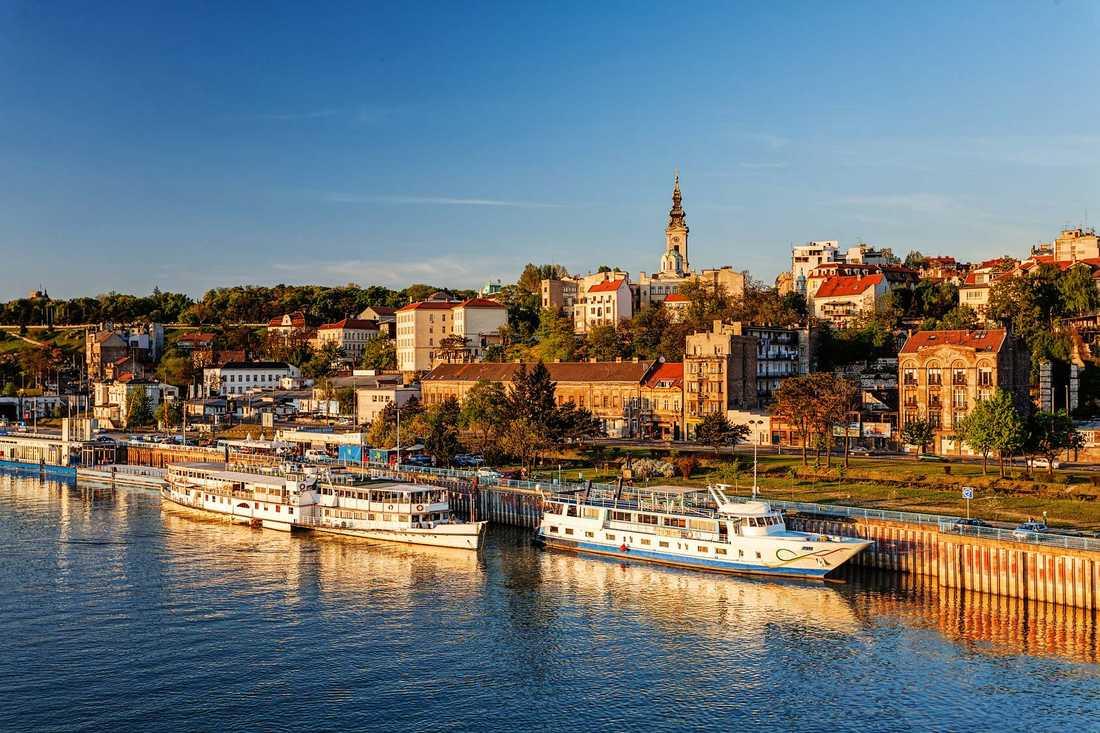 Belgrad toppar listan över storstäder där genomsnittpriset på bra hotell är lägst.