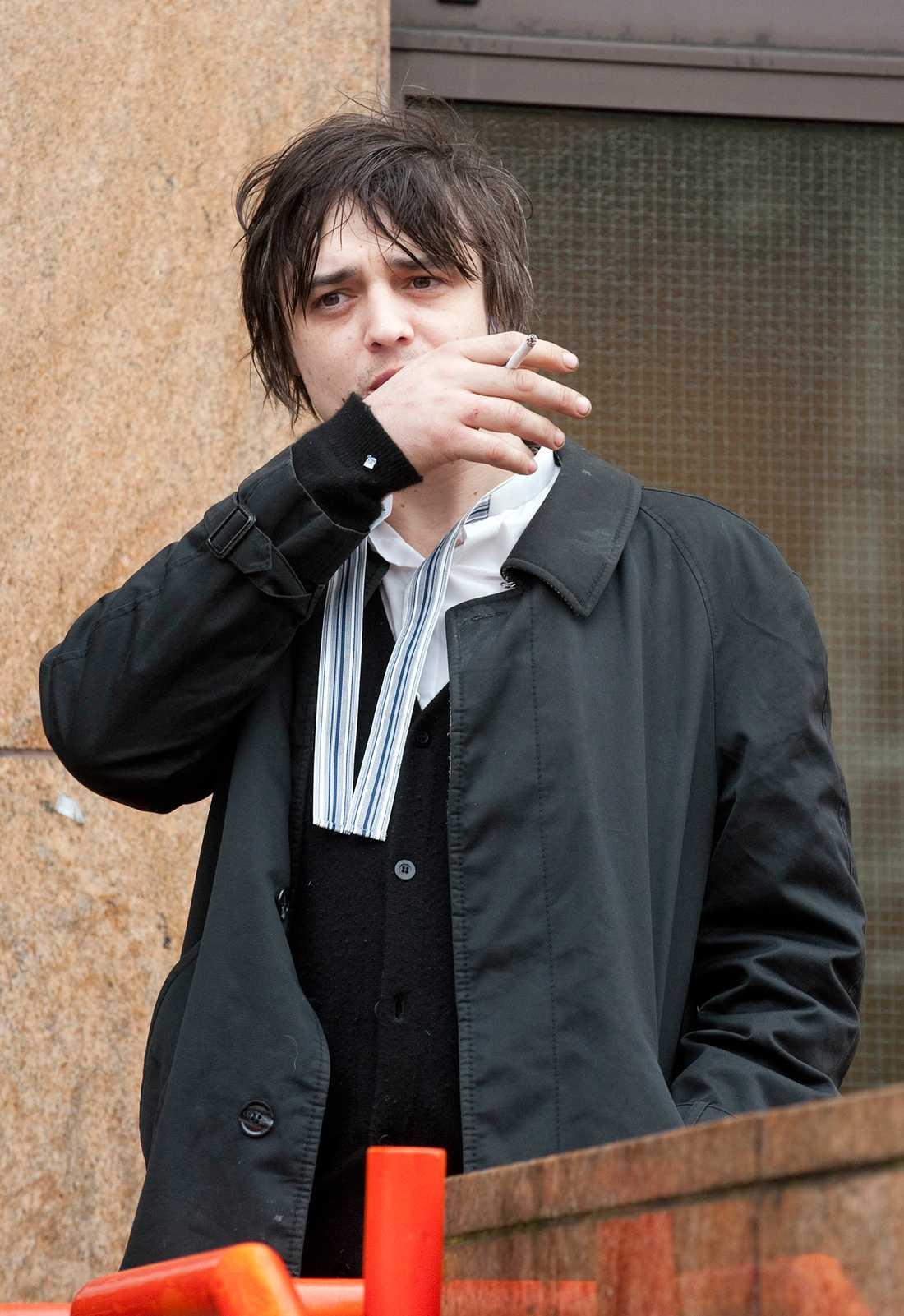 Pete Doherty.