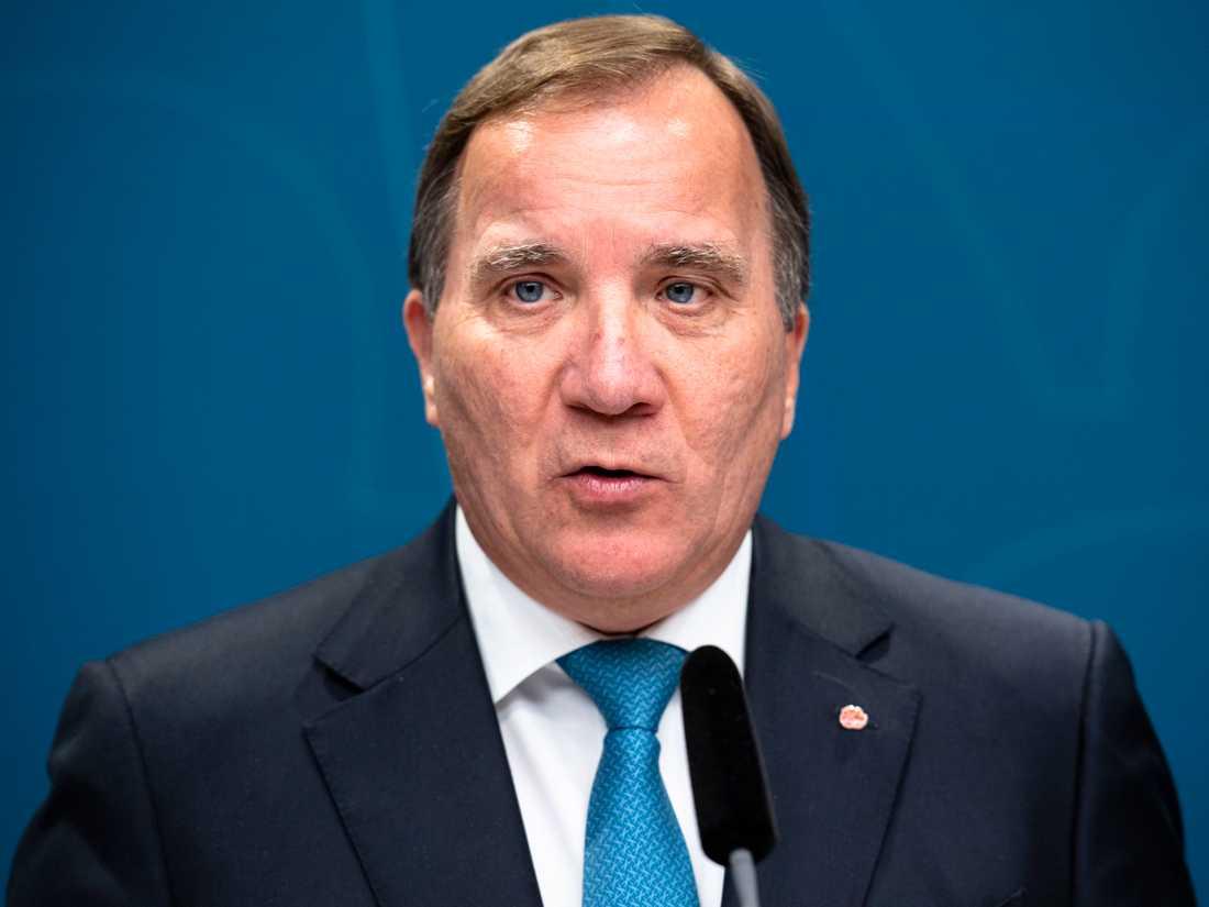 Statsminister efan Löfven.