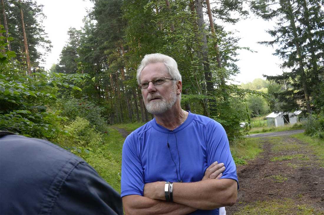"""""""Om det är som polisen misstänker så är det för jävligt"""", säger Ingvar Fasén, 63, som brukar jogga i området varje morgon."""