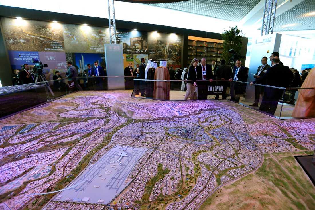 En ny administrativ huvudstad väntas stå klar inom tio år i Egypten. Arkivbild.
