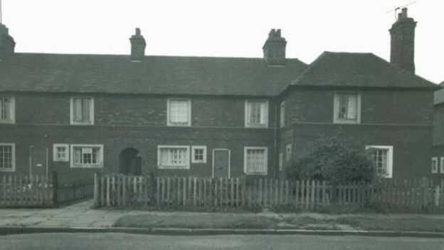 Familjens hem i Haverton Hill, norr om Middlesbrough i Storbritannien.