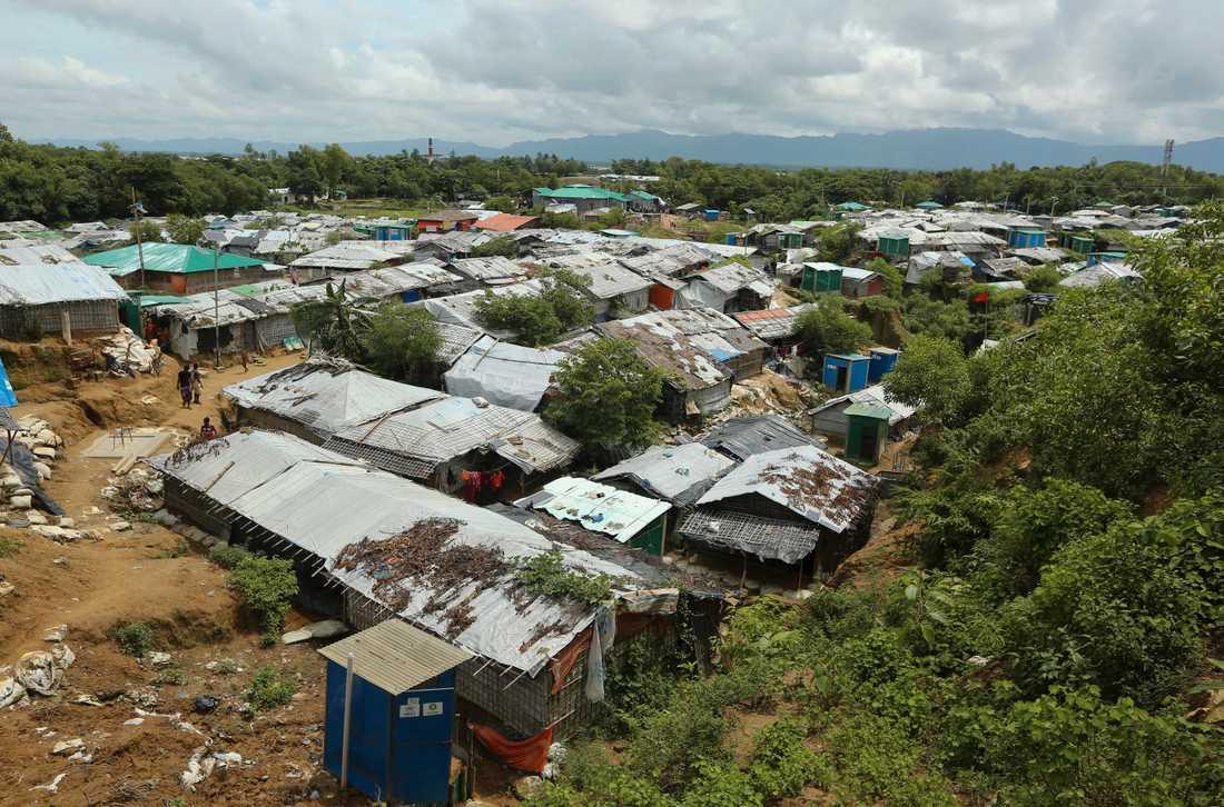 Många rohingyer befinner sig i flyktingläger i Bangladesh. En del av dem försöker ta sig därifrån båtvägen. Arkivbild.