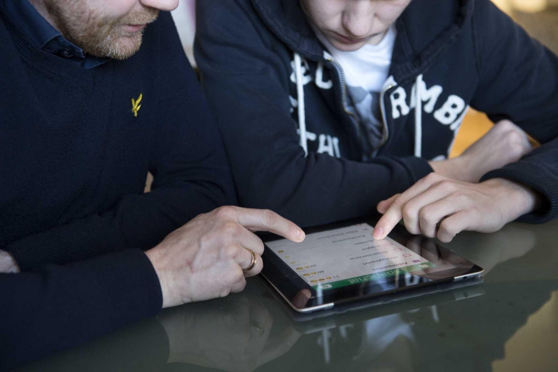 Mer än var tredje barn har kontaktats på internet i sexuella syften, visar en Sifo-undersökning. Arkivbild.