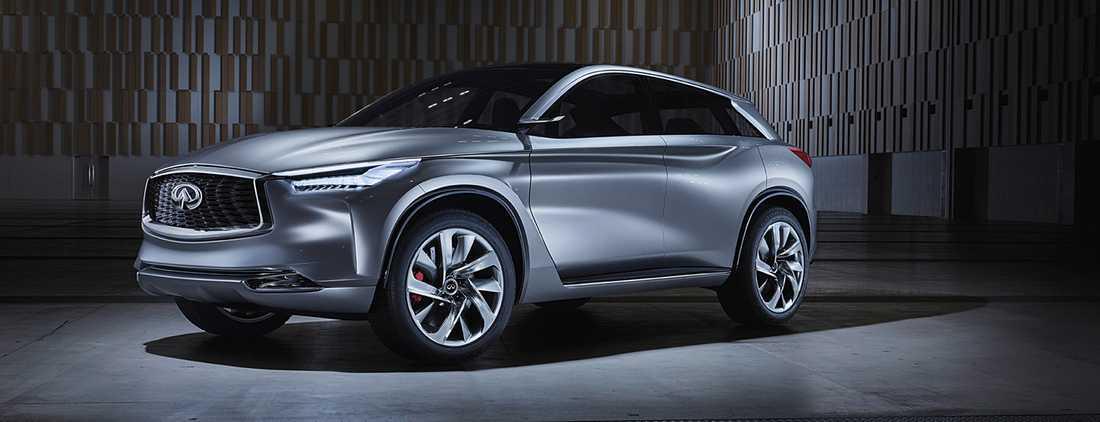 Infiniti-koncepet QX Sport Concept – en bil som kommer prägla hur nästa QX50 ser ut.