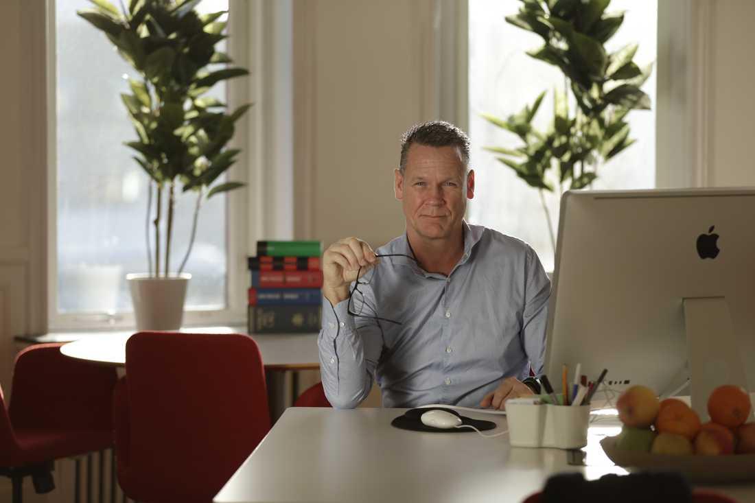 Mats Svensson, 51, har ett av Sveriges största PPM-konton.