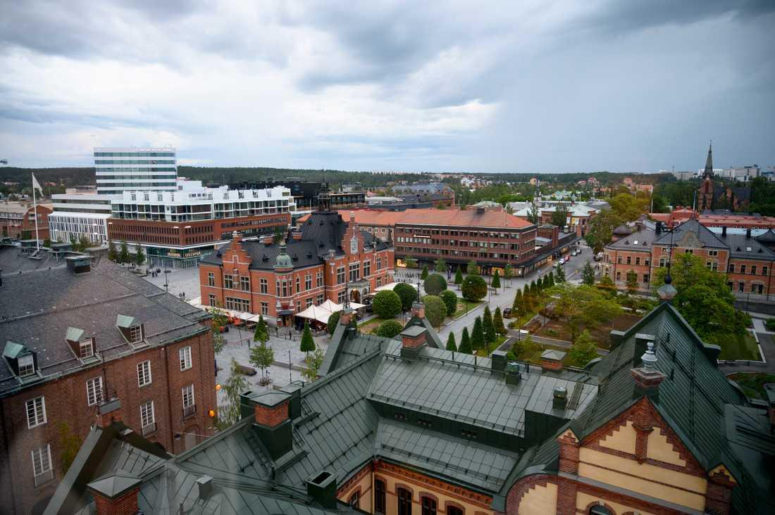 Ytterligare regn väntas i Umeå under lördagen, men enligt kommunen ska situationen vara under kontroll. Arkivbild.