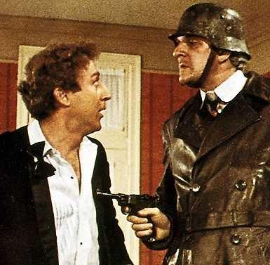 """Mel Brooks i """"The våras för Hitler"""" (""""The Producers"""") från 1968."""