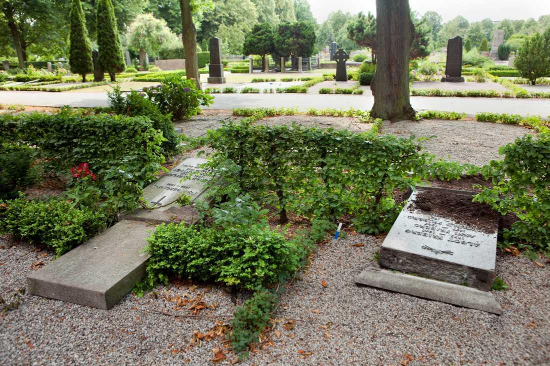 Sverigedemokraterna vill se kameraövervakning och lås på stadens kyrkogårdar.