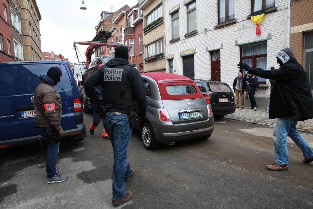 Här, i stadsdelen Anderlecht, ska den tredje eftersökte terroristen ha gripits.