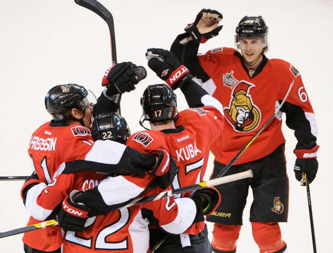 Ottawa stod för en stark upphämtning mot Flyers.
